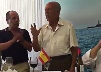 El Gobierno pasa de puntillas en una respuesta a IU sobre la presencia del golpista Tejero en un acto oficial de la Guardia Civil el día de su patrona