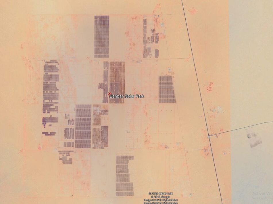 Egipto cuenta con la mayor planta solar del mundo en la región oriental del desierto del Sahara