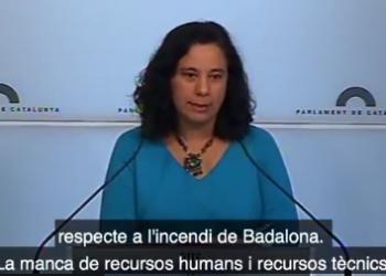 """Susanna Segovia reclama al Govern que """"es deixi de cortines de fum"""" i apliqui les mesures en vigor de les lleis recorregudes al TC"""