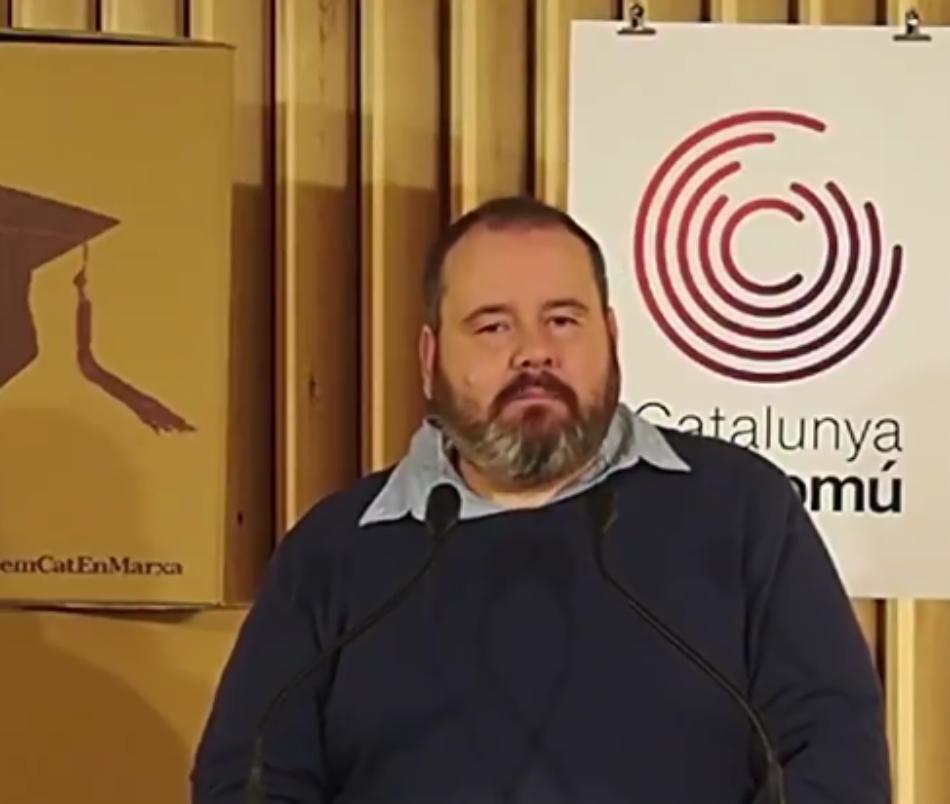 Mena: «Si Torra eludeix la responsabilitat de dirigir el país, ERC no es pot fer invisible»