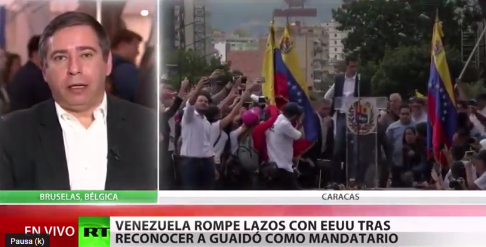 Eurodiputado Javier Couso: «En Venezuela se está produciendo un Golpe de Estado apadrinado y dirigido por EE.UU.»