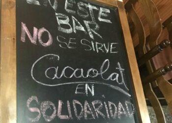 Una ola de solidaridad con la huelga de Cacaolat