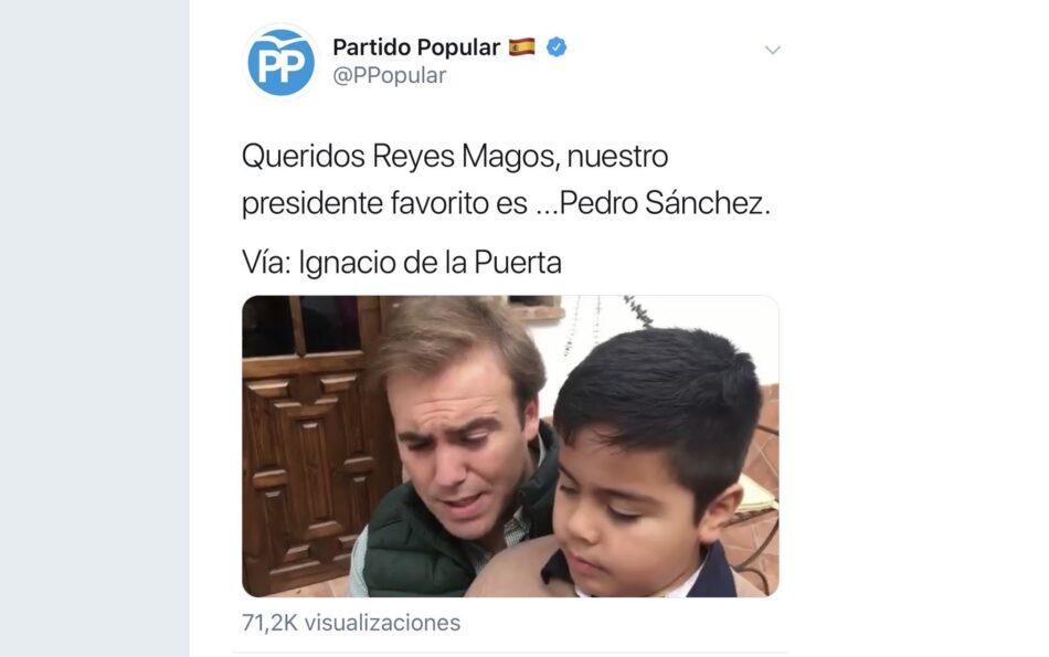 El video en Twitter del PP o la adopción de la estrategia de provocación de Vox