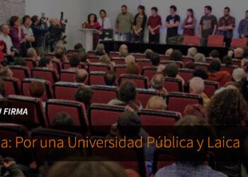 UNI Laica rechaza las celebraciones en honor de santo Tomás de Aquino en la Universidad de Jaén y en otras universidades públicas