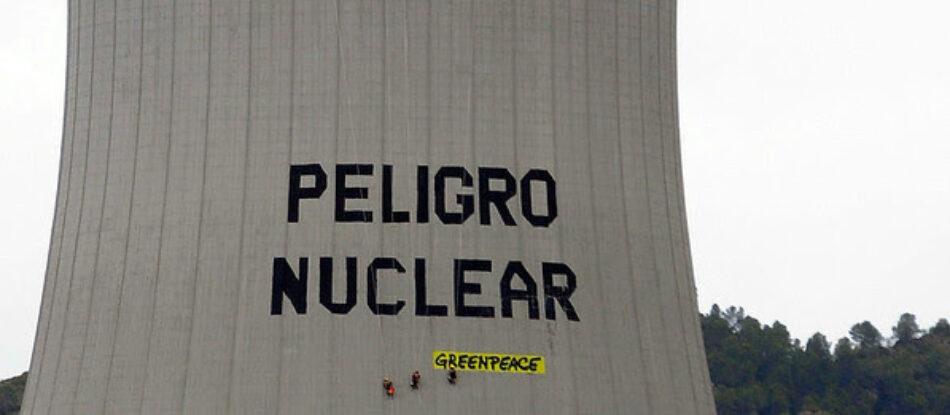 Greenpeace denuncia que ningún Estado ha logrado gestionar los residuos nucleares de forma segura
