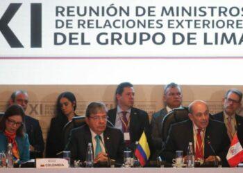 El llamado Grupo de Lima no apoya intervención militar en Venezuela