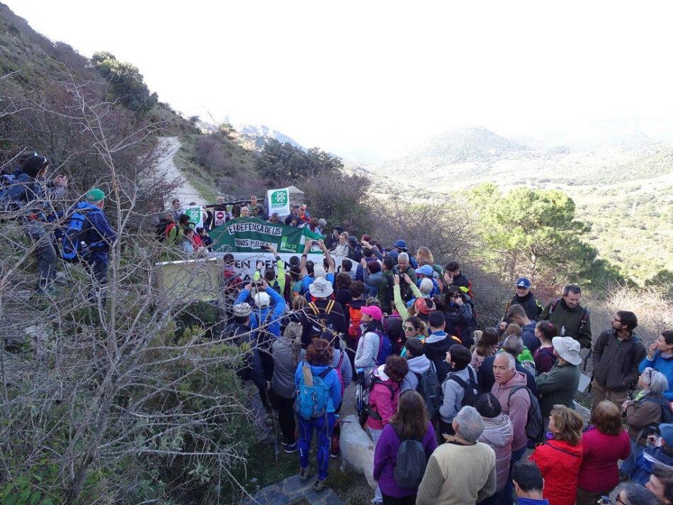 Impiden de forma violenta la marcha por el sendero del Salto del Cabrero (Cádiz)