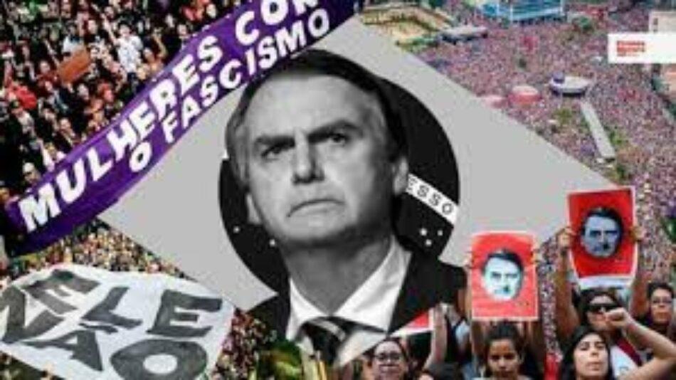 Consideran ataque a embajada Brasil en Berlín, acto antifascista contra Bolsonaro