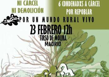 Manifestación y Jornada #FraguasLibertad, «por un mundo rural vivo»: 23-F