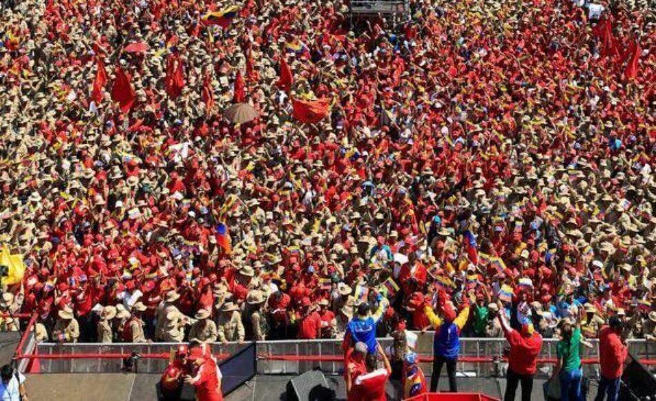 Continúa la agenda golpista: silenciando el enorme apoyo al Gobierno de Nicolás Maduro, dentro y fuera de Venezuela