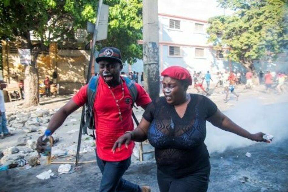 Protestas en Haití contra Gobierno cumplen séptimo día consecutivo