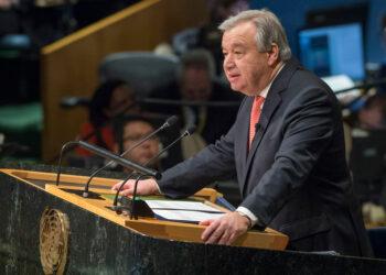 Guterres pide mayor voluntad política de Naciones Unidas ante los desafíos globales