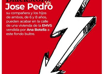 #JoséPedroVsBlackStone