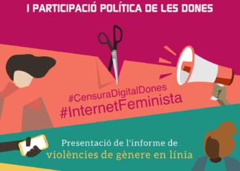 Ada Colau, Cristina Fallarás, Silvia Agüero, Alicia Murillo y Miriam Hatibi compartirán sus experiencias frente al acoso en redes