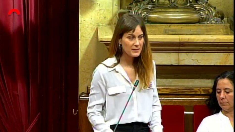 """Albiach a Torra: """"Si algú pensa que Catalunya podrà avançar sense més democràcia a Espanya s'equivoca"""""""
