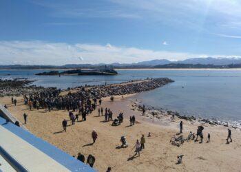 Cantabristas insta al Gobierno de Cantabria a que exija la reversión de los daños producidos por las obras de los espigones de La Magdalena