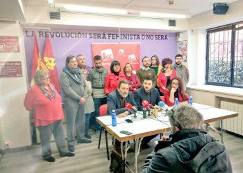 Izquierda Unida se presentará en las elecciones municipales de Madrid con una candidatura distinta a la de Más Madrid