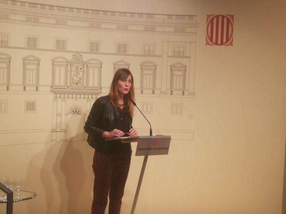 """Jéssica Albiach: """"Defensar el dret a decidir i la democràcia no és delicte"""""""