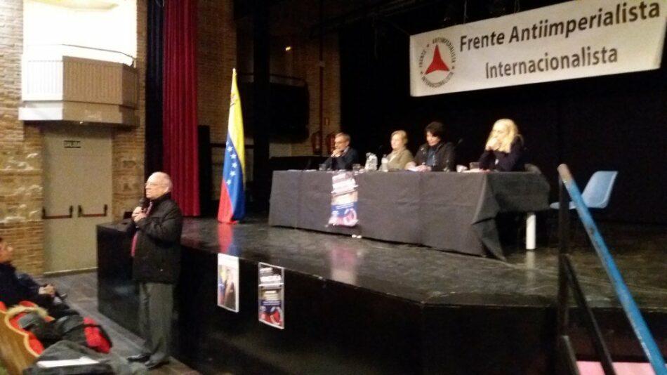 Carta para recoger firmas y entregar a la embajada de Venezuela en el Reino de España concluye como «ilegal e ilegítima la declaración del presidente del gobierno Pedro Sánchez»