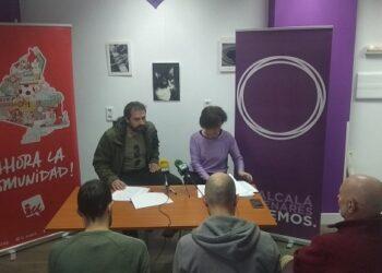 Podemos Alcalá declina la invitación de Somos Alcalá para confluir en las próximas elecciones y reafirma su alianza con Izquierda Unida