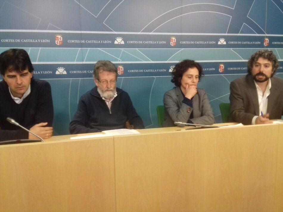 José Sarrión (IU-Equo) insta al ejecutivo autonómico a la elaboración de un listado de bienes inmuebles de la Iglesia Católica inmatriculados desde 1945-2015