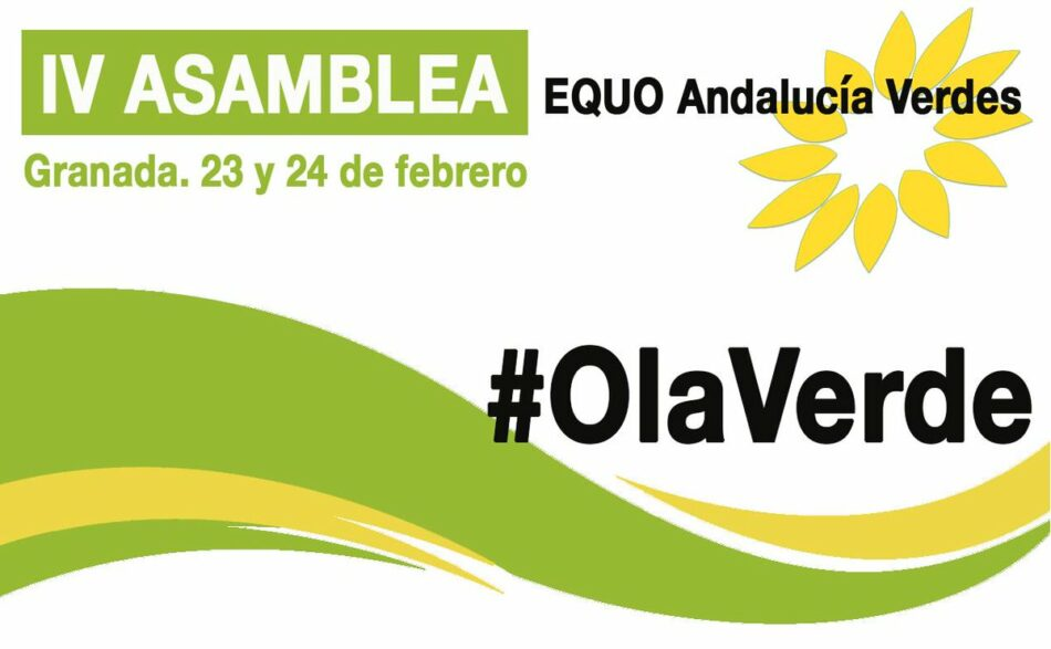 EQUO Andalucía decide este fin de semana su estrategia política y de organización