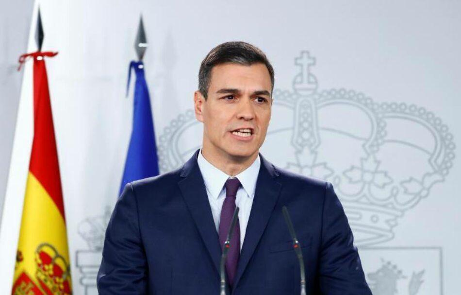 Pedro Sánchez adelanta las elecciones Generales al 28 de abril tras el rechazo de los PGE