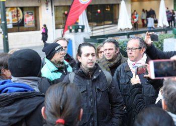 José Pedro está a la espera de sentencia tras la vista oral del juicio contra el fondo buitre BlackStone