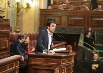 """Garzón reclama """"valentía"""" a los partidos que desalojaron a la derecha del Gobierno para """"seguir dando pasos"""" para no perpetuar los recortes y enfrentarse a la amenaza reaccionaria"""