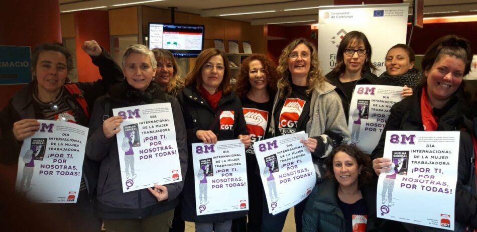 CGT-Barcelona registra la Huelga General de 24 horas para el 8 de marzo