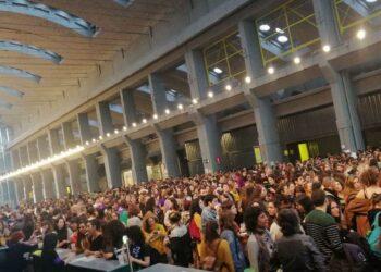 El Eventazo Feminista congrega a miles de personas animando al 8M