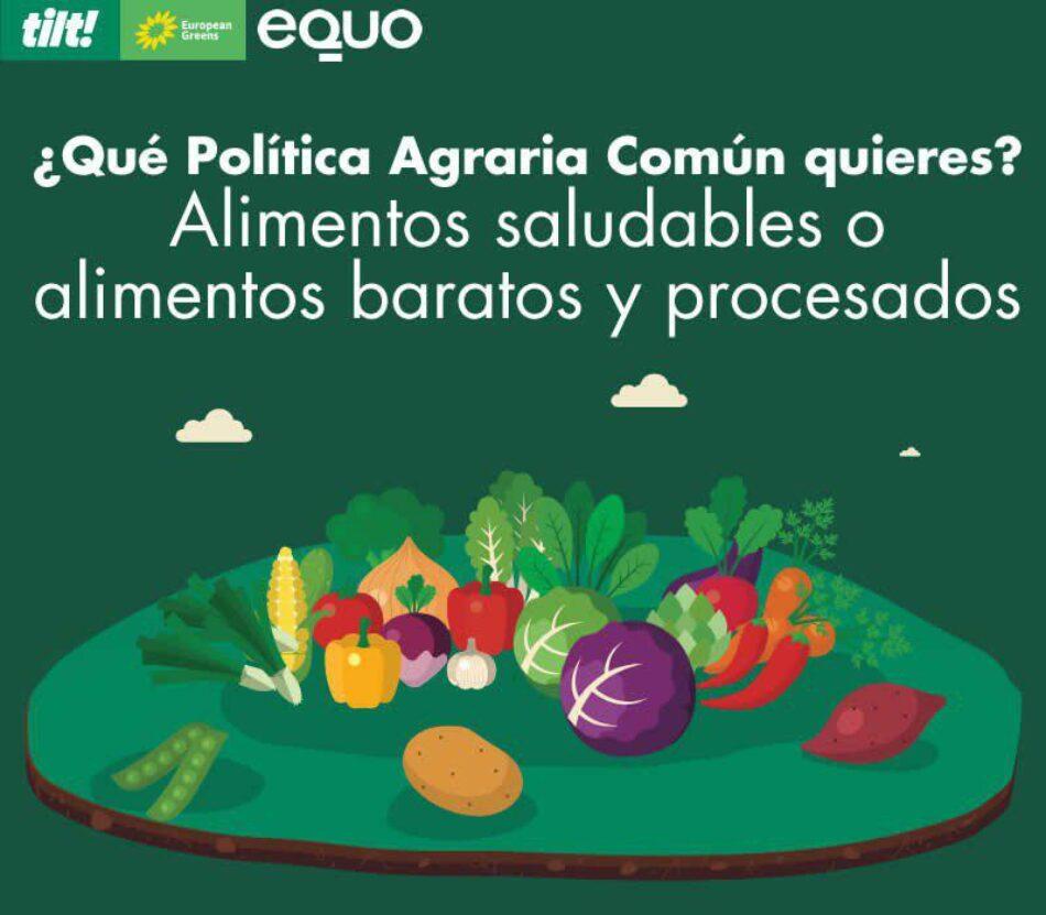EQUO pregunta a la ciudadanía sobre la reforma de la PAC