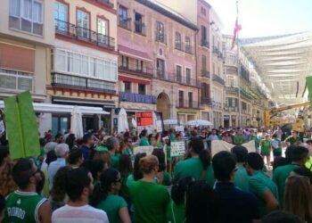 Marea Verde denuncia la deriva neoliberal de la política educativa del gobierno andaluz tripartito y su apuesta por la enseñanza privada- concertada