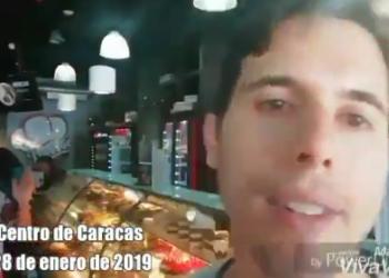 Joven argentino desmiente a los medios de comunicación y muestra -a través de una serie de vídeos grabados hasta el 1 de febrero- cómo se vive en Venezuela