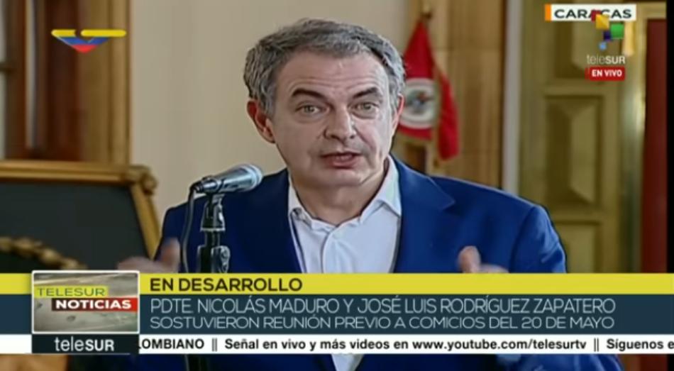 El día que Zapatero desmontó las mentiras de Pedro Sánchez sobre Venezuela