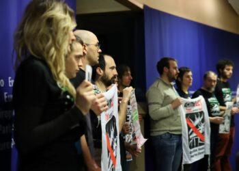 La lucha contra el TAV coge  fuerza en el Parlamento Europeo