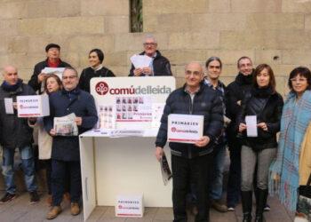 #PrimariasComú: Las Vecinas y vecinos de Lleida decidirán la lista del Comú en los próximas Municipales