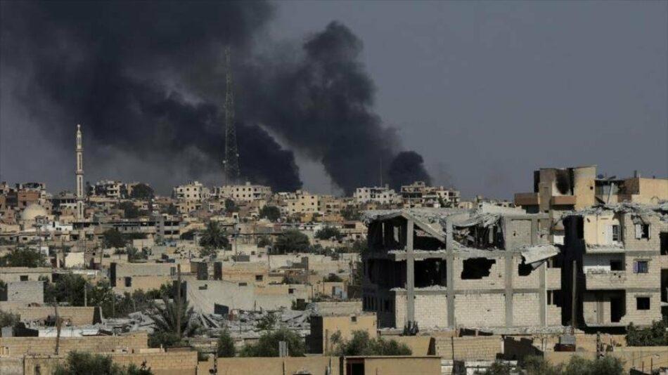 Coalición de EEUU mata a 50 civiles en Deir Ezzor, en Siria
