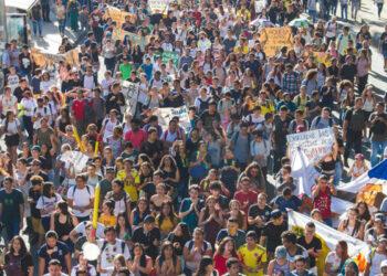Colombia. Los estudiantes siguen en pie de lucha