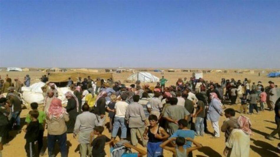 Refugiados logran retornar a territorio controlado en Siria