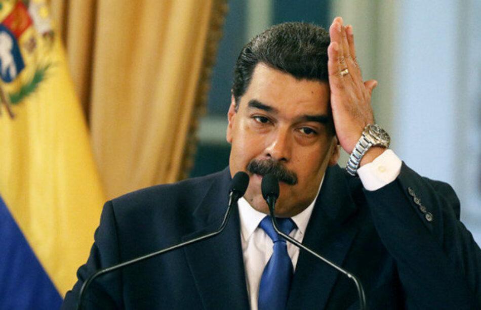 Venezuela. Maduro denuncia a EE.UU. por secuestrar 5.000 millones de dólares destinados a medicinas