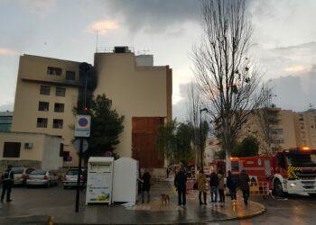 El Gobierno reconoce a IU que un mes y medio después del incendio que arrasó dos juzgados de instrucción de Ibiza aún no conoce 'si fue fortuito o provocado'