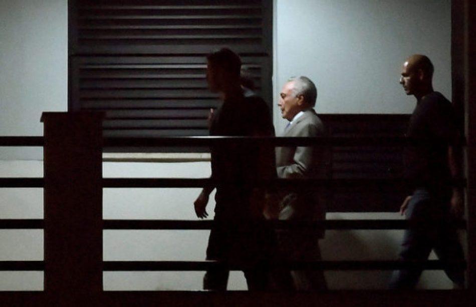 La justicia brasileña revoca la prisión preventiva del expresidente Michel Temer