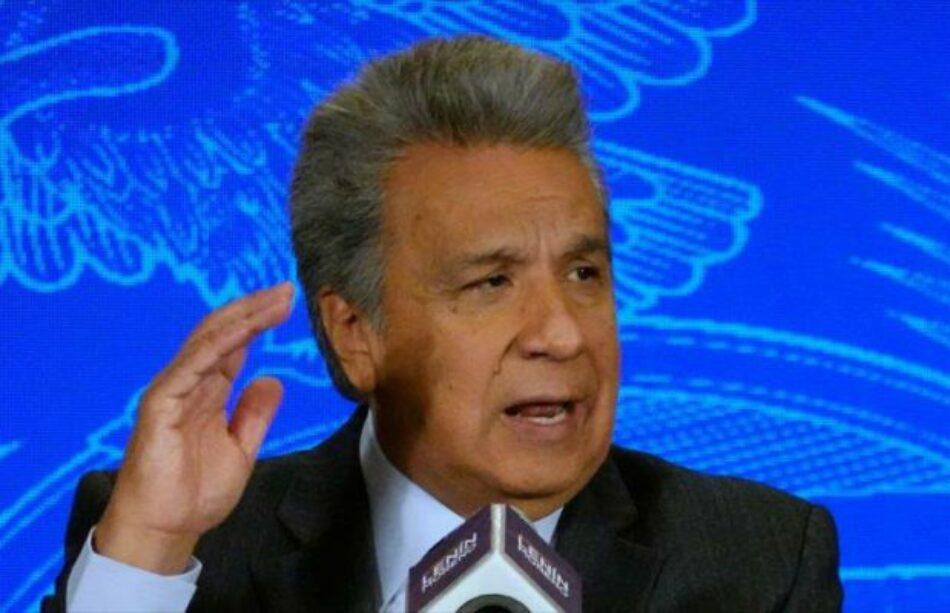 Parlamento de Ecuador investigará a Moreno por corrupción