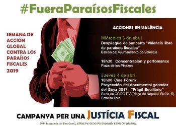 La Plataforma Por la Justicia Fiscal reclama un pacto de Estado contra la elusión y la evasión fiscal y por la desaparición de los Paraísos Fiscales