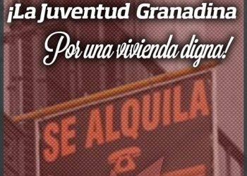 La UJCE de Granada, ante el aumento de los precios de alquiler de la vivienda