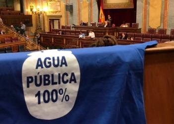 «Con Unidas Podemos el agua volverá a ser un derecho humano y no un negocio financiero»