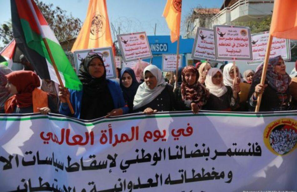 En el Día Internacional de la Mujer, de pie con las mujeres palestinas