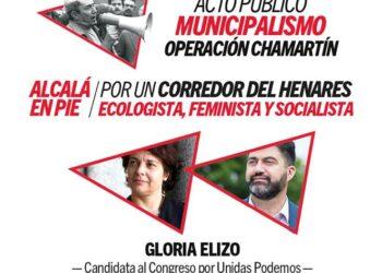Acto público: «Por un Corredor de Henares ecologista, feminista y socialista»