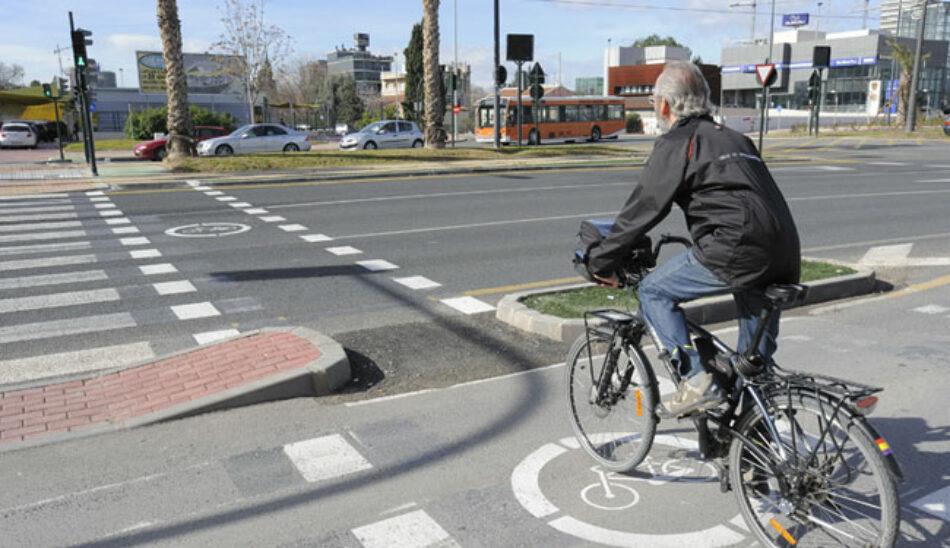 Cambiemos Murcia propone una conexión de carriles bici de acceso a Puente Tocinos